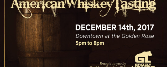 Get in the Spirits!… Join us for the next American Whiskey Tasting!